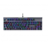 Motospeed CK103 Wired Mechanical Keyboard RGB Black With Blue Switches