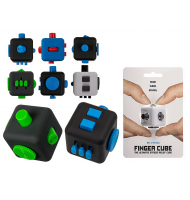 Anti Stress Plastic Finger Cube