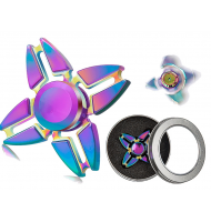 Αντι Στρες Fidget Spinner Quad Colorful 4.5 Minutes