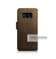 Terrapin Θήκη - Πορτοφόλι Samsung Galaxy S8 - Black/Brown (117-002-951)