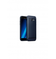 Terrapin Θήκη Σιλικόνης Carbon Fibre Design Samsung Galaxy A3 2017 - Dark Blue (118-002-631)