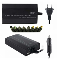 Universal notebook adapter Home-Car 150W OEM 810156
