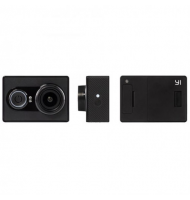 Yi EU Edition Ambarella A7LS Action Camera 368195 Μαύρη & Waterproof Case Bundle