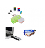 USB Stick Multi Card Reader/Writer - CH-Link All in One-oem