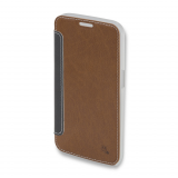 4Smarts Noord Book - Θήκη Samsung Galaxy S6 Edge brown - Πορτοφόλι