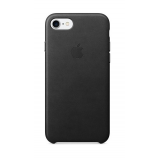 Apple Leather Case iPhone 7 / 8 - Black MMY52ZM/A