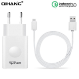Φορτιστής Qihang Z06 QC3.0 1m Fast Charger with Type C Cable
