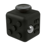 Anti Stress Fidget Cube 6 Sides Black