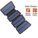 Ηλιακό Power Bank Solar Charger 30800mAh LY-24173