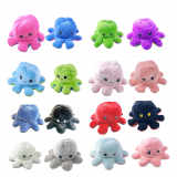 Reversible Octopus Plush Happy To Mad Διπλής Όψης Χταπόδι