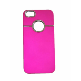 Θήκη iPhone 5 show apple pink oem
