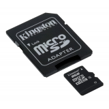 KINGSTON Memory Card MicroSD SDC4/8GB Class 4 SD Adapter