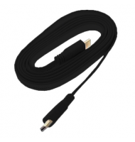 High Speed HDMI 1.4 3D Cable with Ethernet - 2m Flat Type - FullHD 1080p