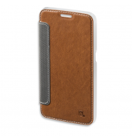4Smarts Noord Book - Θήκη Samsung Galaxy S6 brown - Πορτοφόλι
