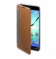 4Smarts Noord Book - Θήκη Samsung Galaxy S6 Edge+ Brown - Πορτοφόλι