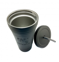 Ecolife Coffee Thermos Cup Black 480ml