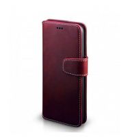 Terrapin Θήκη - Πορτοφόλι Samsung Galaxy S8 - Red with White Stitching (117-002-952)