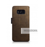 Terrapin Θήκη - Πορτοφόλι Samsung Galaxy S8 Plus - Black/Brown (117-002-962)