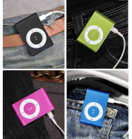 Mini mp3 Player Micro SD + Memory Card 4GB OEM MP3005