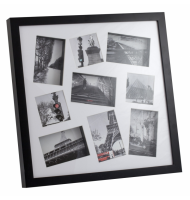 Κορνίζα 3D Multi Photoframe Black
