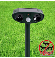 OEM Ηλιακός Ηλεκτρονικός Απωθητής Πτηνών - Ultrasonic Solar Power Signal Animal Repeller Outdoor Mouse Dog Cat Expeller