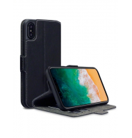 Terrapin Θήκη Low Profile Thin - Πορτοφόλι iPhone X - Black (117-125-002)