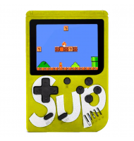 Retro Portable Mini Game Console 8-Bit 3.0 Inch Kids Game Player 400 Games Yellow