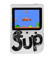 Retro Portable Mini Game Console 8-Bit 3.0 Inch Kids Game Player 400 Games White