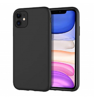 Θήκη Σιλικόνης Rubber and Soft-touch finish iPhone 11