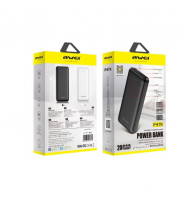 Power Bank Awei P47K Fast Charging Dual USB 20000mAh - Μαύρο