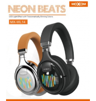 Ασύρματα Ακουστικά Headset Bluetooth + FM Radio Moxom Neon Beat MX-WL14