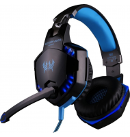 Pro Gaming Headset Kotion Each G2000 Μπλε