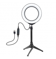 Selfie Ring Light 16cm With Desktop Tripod