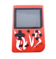 Andowl Red Retro Portable Mini Game Console 8-Bit 3.0 Inch Kids Game Player 400 Games