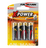 Μπαταρίες X-POWER Ansmann Alkaline AA 4 τμχ.