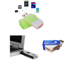 USB Stick Multi Card Reader-Writer - CH-Link All in One-oem