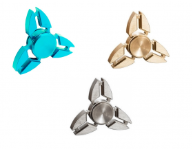 Fidget Spinner Copper Crabs Three Leaves 3.5 minutes