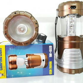 Φακός 1W - Λάμπα 6 Led Camping Light Oem GSH7088A