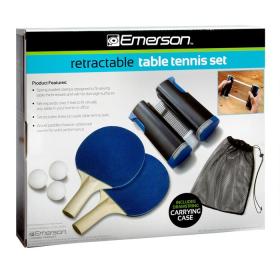 Φορητό Set Ping Pong Retractable Table Tennis Emerson