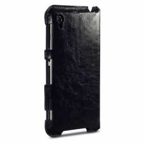 Δερμάτινη Θήκη Sony Xperia Z1 Black by Covert (117-005-248)