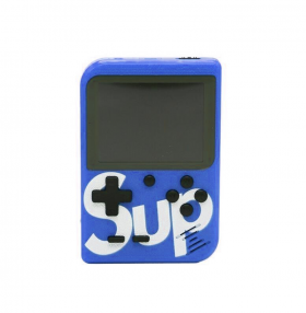 Retro Portable Mini Game Console 8-Bit 3.0 Inch Kids Game Player 400 Games Blue