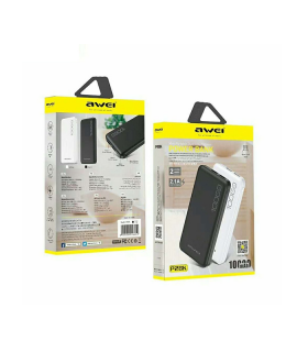 Power Bank Awei P28K Fast Charging Dual USB 10000mAh - Μαύρο