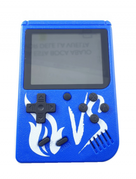 Andowl Blue Retro Portable Mini Game Console 8-Bit 3.0 Inch Kids Game Player 400 Games