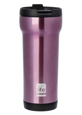 Ecolife Purple Coffee thermos 420ml