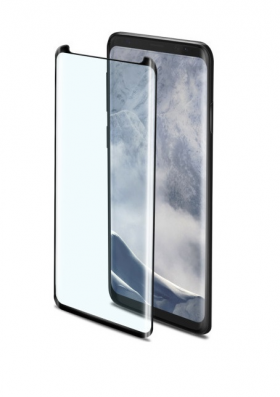 Celly Tempered Glass Samsung Galaxy S9 Plus - Black