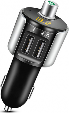 Bluetooth Kit FM Transmitter / Dual USB Charger / Car MP3 Player Multifunction LCD Display (ΟΕΜ)